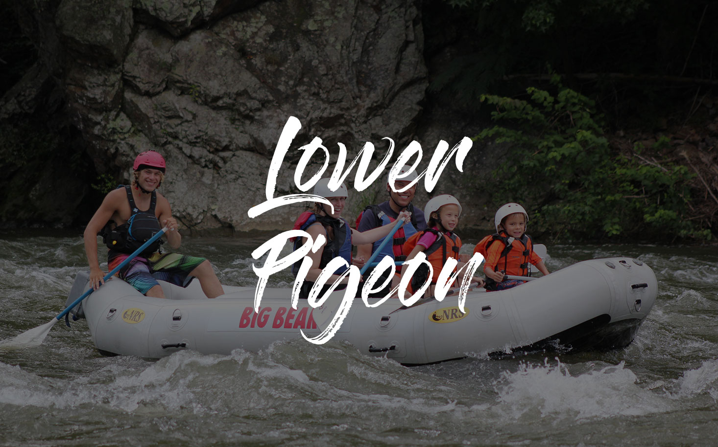 river rafting pigeon forge